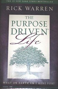leer the purpose driven life what on earth am i here for en linea gratis the purpose driven life what on earth am i here for by rick warren 2002 310205719 ebay