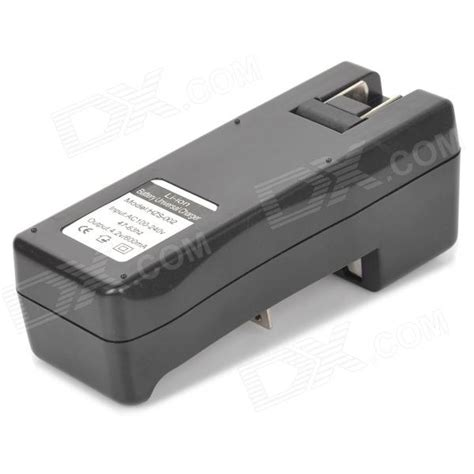 Charger Baterai 18650 2 Slot Hzs 002 letterfire hzs 002 4 2v 600ma li ion 2 slot battery charger for 18650 more black 100 240v