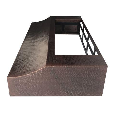 Copper Cabinet Range by 36 Hammered Copper Cabinet Range