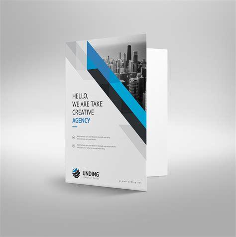 template folder aristaeus modern corporate presentation folder template
