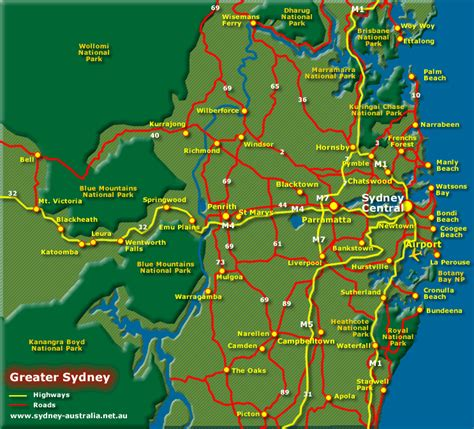 map of australia with sydney bondi ramblings and observations