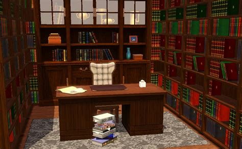 library study room sims 3 interior design inspirations library study room