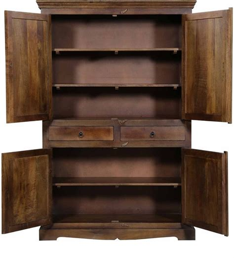armadio in legno massello armadio legno massello etnico outlet mobili etnici