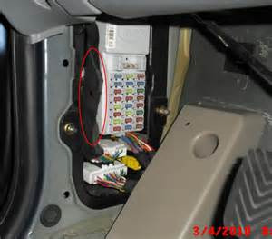 kia sorento questions which fuse relay controls the