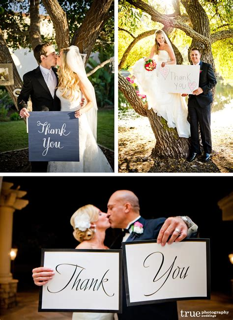 Wedding Holding Thank You Sign by Thank You Sign For Thank You Cards Archives True Photography