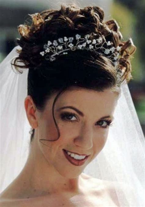 wedding up dos with a crown wedding hair updos with veil