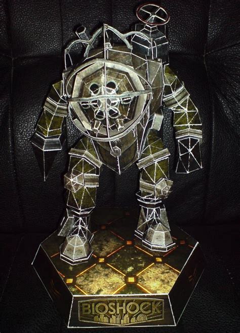 Bioshock Papercraft - big papercraft by cheetah1852 on deviantart