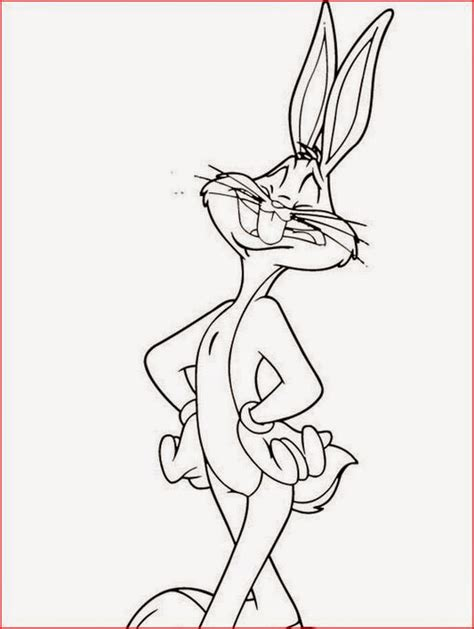 Bugs Bunny With Space Jam Coloring Pages Space Jam Color