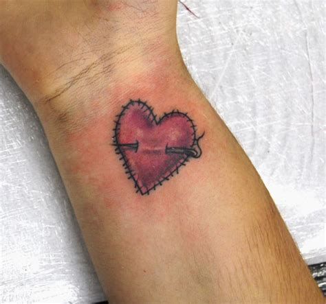 broken heart wrist tattoos 25 artistic broken tattoos creativefan