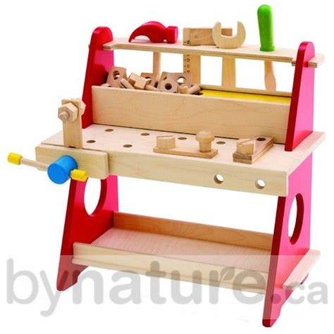 girls tool bench wooden toy kids tool bench for my girls pinterest