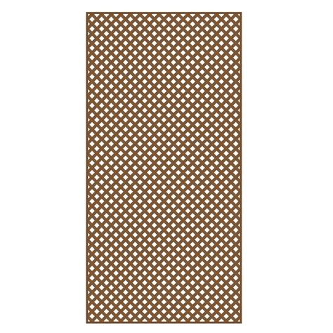 shop barrette cedar redwood privacy vinyl lattice common