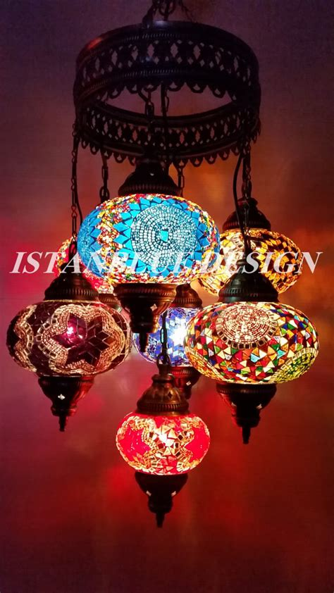 moroccan outdoor lights chandelier chandeliers lighting l mosaic by istanbluedesign