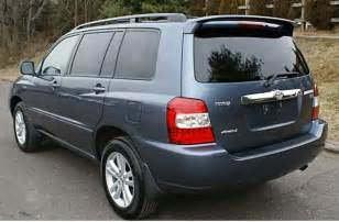 Toyota Hilander 2006 Toyota Highlander 2006 Review Amazing Pictures And