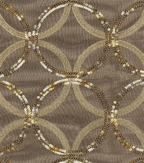 home decor sheer fabric hgtv home sparkle plenty gold