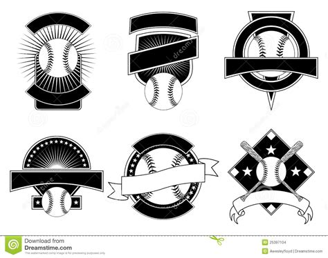 Baseball Design Templates Stock Images Image 25397104 Baseball T Shirt Design Templates