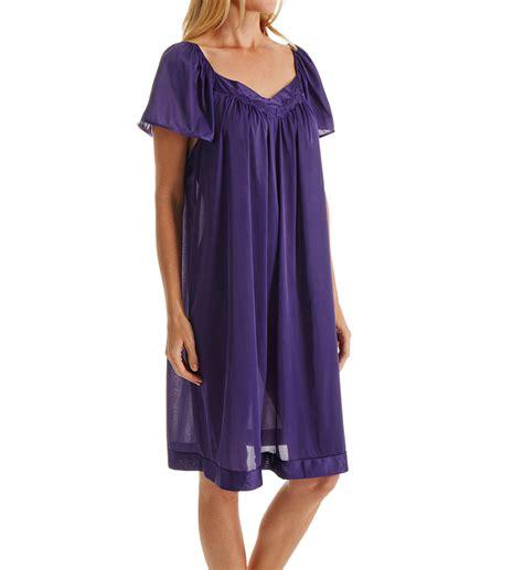 Vanity Fair Gown vanity fair coloratura flutter sleeve gown 30109 vanity fair sleepwear