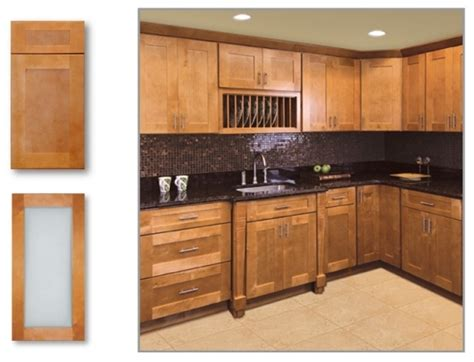 Pre Made Kitchen Cabinets by Cinnamon Shaker Kitchen Cabinet Depot