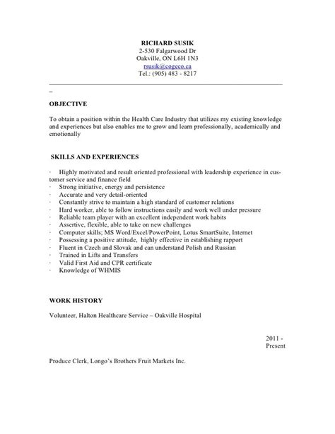 Sle Resume For Psw Clinical Support Worker Resume Sales Support Lewesmr