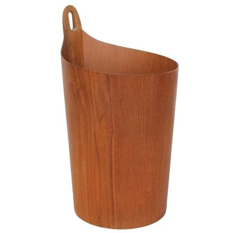 wastepaper basket 1950s teak wastepaper basket by einar barnes for p s