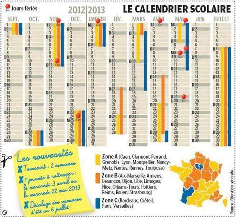 Calendrier Scolaire 2012 Calendrier Scolaire 2012 2013 Qu Est Ce Qui Change
