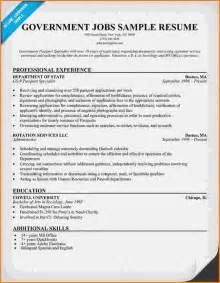 Sle Federal Government Resumes by Federal Government Resume Builder Resume Templates And