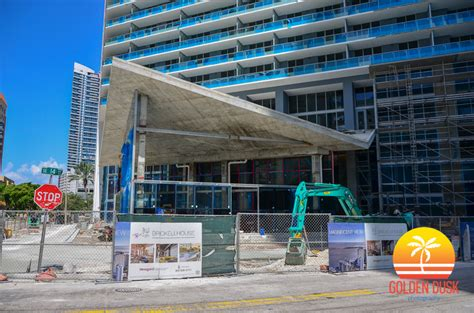 brickell house brickell house construction photos golden dusk photography