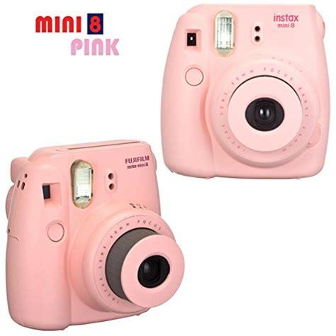 pink fujifilm fujifilm instax mini 8 pink accessories kit for