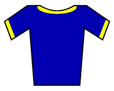 Kaos Catton T Shirt file soccer jersey blue yellow borders png wikimedia