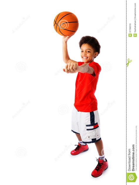 Picture Of Boy Basketball