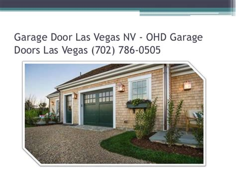 Garage Door Repair Las Vegas Las Vegas Garage Door Repair