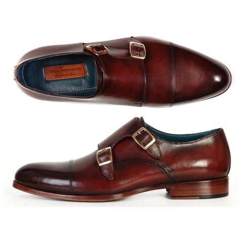 paul parkman shoes paul parkman calfskin monk shoes brown