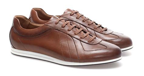 zara leather sneaker