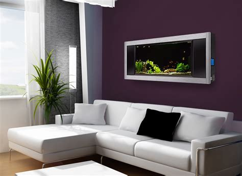 aquavista panoramic wall aquarium fish tank aquariums at wall aquariums dynamic alternative to hanging flat panel