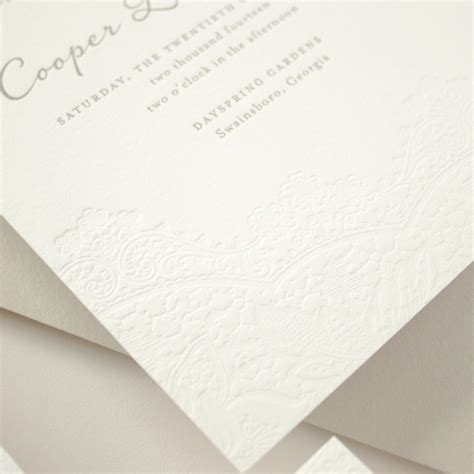 Cotton Paper Process - wedding stationery guide letterpress printing banter