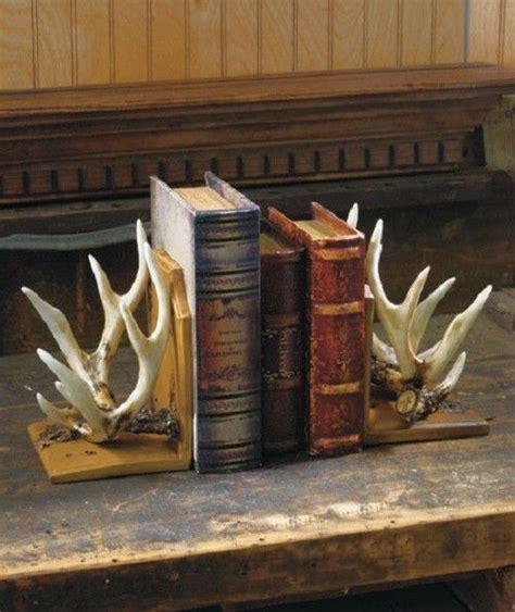 home decor antlers details about deer antler bookends wildlife cabin lodge