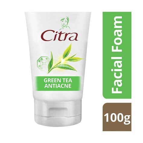 Acne Malam Acne Green Tea jual citra green tea anti acne foam 100 g