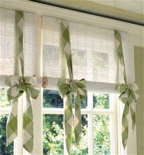 How To Dress A Window Without Curtains | 8 ways to dress up the kitchen window without using a curtain tidbits twine