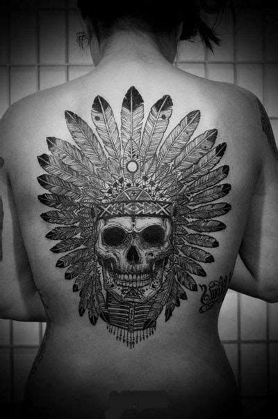 imagenes de calaveras indias tatuaje indio calavera