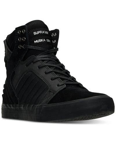 Sneakers Sepatu Nike Airforce One High Putih List Hologram Grade Ori supra s skytop evo high top casual sneakers from