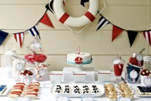 Nautical Birthday Party Theme - real parties nautical first birthday party the tomkat studio blog