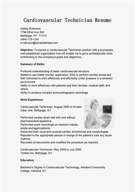 Cardiac Resume Cover Letter 100 Environmental Specialist Resume Resume Doc Template Format Of Resume For