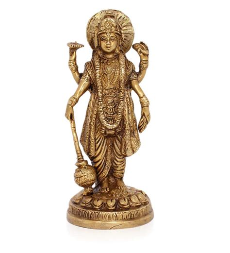 god statue home sparkle brass hindu god vishnu statue by home sparkle