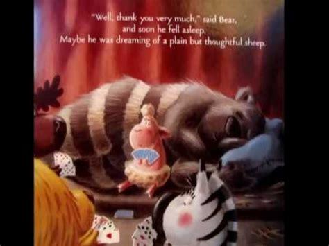 cranky bear read aloud  brettmpg youtube
