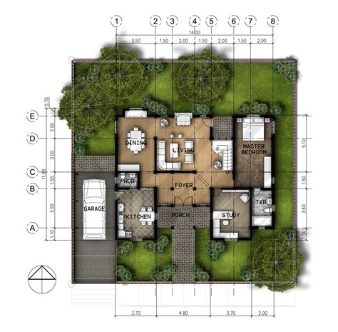 layout plan photoshop 2 story residential by jan paul tomilloso at coroflot com