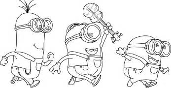 coloring pages minions bob minion coloring pages best coloring pages for