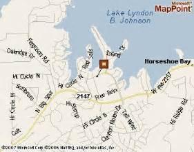 map of horseshoe bay horseshoe bay resort golf resort by two guys who golf