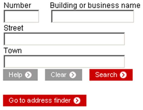 Royal Mail Address Finder Using Postcode Flawed Interface Of Royal Mail S Postcode Finder Utility
