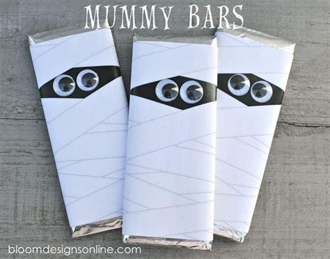 printable mummy eyes mummy bars free template halloween pinterest
