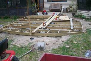 How To Level A House diy ground level deck plans plans free