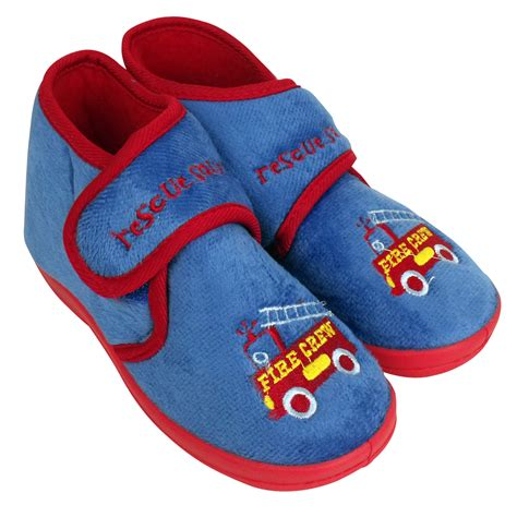 house shoes boys girls boys childrens toddlers novelty ankle boot slipper kids slippers ebay